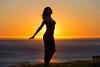Sun Goddess (pbuschmann) Tags: sunset malibu sungoddess beach california juliya yoga nature namaste rays light peace