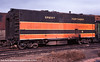 Great Northern Railway Heater Car 8 at Denver on February 11, 1977 (Twin Ports Rail History) Tags: box car 1977 twin ports rail history by jeff lemke bn gn great burlington northern heater passenger boiler denver colorado