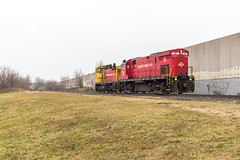 Heading Home (sully7302) Tags: morristown erie mx22 oi83 conrail shared assets me alco c424 18 emd sw1500 20 mp15dc 2408 norfolk southern newark oak island ph passaic harsimus garden state secondary chemical coast bayway