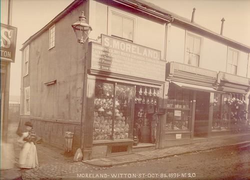 Samuel Moreland, ironmonger, 21 Witton Street – 1891