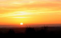 Setting Sun (robin denton) Tags: sunset landscape yorkshirelandscape ruralscene rural nationalpark northyorkmoorsnationalpark northyorkmoors northyorkshire yorkshire skyscape sky clouds moors