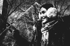 you? (matthias hämmerly) Tags: zürich zuerich switzerland candid street streetphotography woman sun shadow waiting contrast grain ricoh gr black white bw monochrom monochrome city town urban you helvetiaplatz flea market gloves