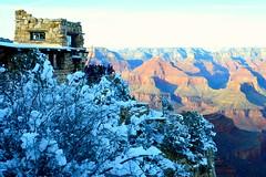 Grand Canyon 52 (Krasivaya Liza) Tags: grandcanyon grand canyon national park canyons nature natural wonder az arizona holiday christmas 2016 snowy winter cliffs cliffside edgeofcliff