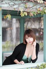 DSC_5701 (錢龍) Tags: 希維亞 小希 文創園區 外拍 beauty sexy nikon d700 girl 短髮