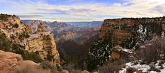 Duck Point - Grand Canyon Park (Bonbonagaz) Tags: moran point duck rock landscape panoramic usa arizona grand canyon