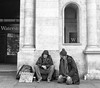 Hard Times V (bensonfive) Tags: homeless roughsleeper hardtimes blackwhitephotography monochrome fujifilmx100s streetphotography london