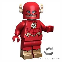 Custom Lego Flash New 52 (Alex Weon) Tags: dccomics flash new52 christo7108 custom lego