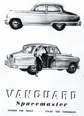 Standard Vanguard Spacemaster (mid 1950s)