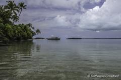 "Vaka Boat - ""One Foot Island"" © Catherine Crawford 2017 (Zimbrit) Tags: aitutaki atoll aitutakiadventures onefootisland sea southseas southpacific sonyrx10iii cookislands landscape beachparadise beautifullagoon beach vakacruise vaka"