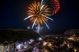 Staithes Fireworks