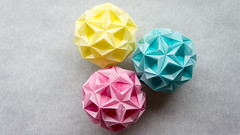 Starsea (dizkaimo) Tags: origami kusudama tomokofuse