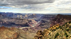 Grand Canyon Under Clouds (Spebak) Tags: road trip summer arizona sky clouds nationalpark hiking grandcanyon storms grandcanyonnationalpark 2015 spebak