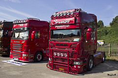 "Scania R Streamline Topline "" SARANTOS junior "" (GR) (magicv8m) Tags: truck transport r gr trans scania streamline lkw tir 2015 sraz zlin topline sarantosjunior"