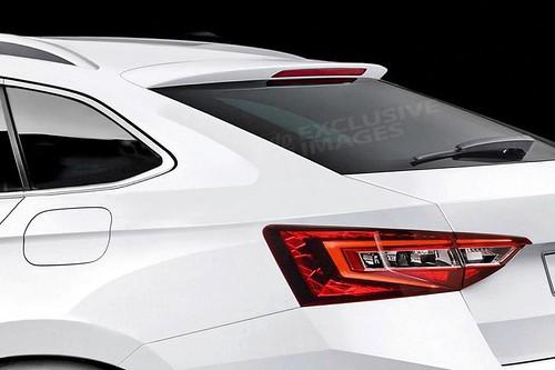 Skoda coupe-crossover