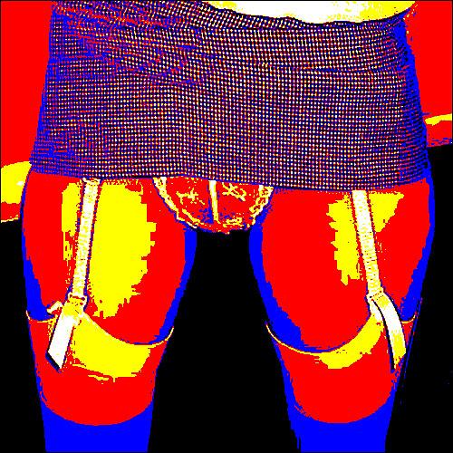 Neon Panties 167 Lace Penties Nylon Stockings Girdles Legs Upskirt