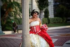 Posing at Pasadena City Hall (lizcnyc1) Tags: tiara dressedup pasadena fancydress glamorous teenagegirl quinceneara