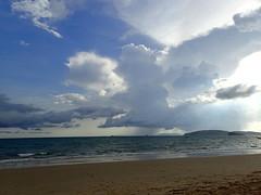 Cloudy Day (stardex) Tags: sea sky cloud beach thailand sand cloudy krabi aonang aonangbeach
