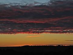 Last Light (Deepgreen2009) Tags: light sunset red church silhouette last evening horizon spire