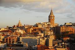 Galata Tower (petrk747) Tags: voyage cruise travelling tower history turkey istanbul bosphorus galatatower historicallandmark saariysqualitypictures historyspot
