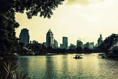 Bangkok Park (tole_glock) Tags: park thailand bangkok tole banyantreehotel