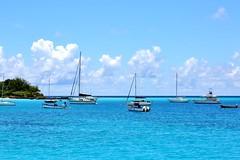 Barbados (Lee Armstrong Jones) Tags: barbados carribean canon mkiii holiday view beach brownsbeach sand water colourfull sea westindies island ocean boats yacht hilton 5dmkiii bridgetown bay carlisle boatyard carlislebay canon5dmkiii hotels 24105mm bluesea 100400mm resort usm sky