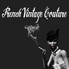 French Vintage Couture looking for Models to a fashion show ! (elhan.resident) Tags: fashion french makeup jewelry clothes sl secondlife accessories fashionista maquillage accessoires jewel slfashion slclothes slmode frenchvintagecouture