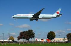 Air Canada 777 'C-FIVW' (Longreach - Jonathan McDonnell) Tags: london boeing 777 aircanada boeing777 londonheathrow egll 777300 cyvr 777333er dsc0932 ac854 cfivw