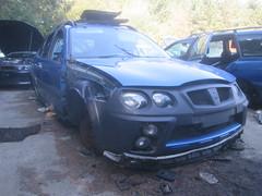 SCRAPYARD. (RUSTDREAMER.) Tags: cornwall rover scrapyard streetwise rustdreamer hj54ulx