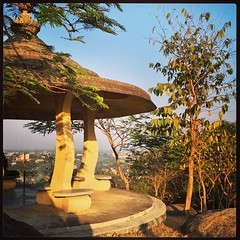 Observation Point (InvaderXan) Tags: india tezpur
