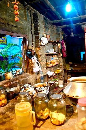 A Village Tea Stall