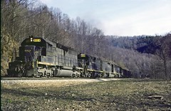 Northbound coal empties Camp Two (crr200) Tags: crr clinchfield