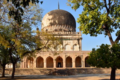 India - Telangana - Hyderabad - Tomb Of Mohammed Qutb Shah (VI. King) - 4 (asienman) Tags: india hyderabad tombs telangana asienmanphotography qutbshahiheritagepark
