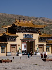 Longwu Monastery (g-squared) Tags: china tibet  tongren rebkong