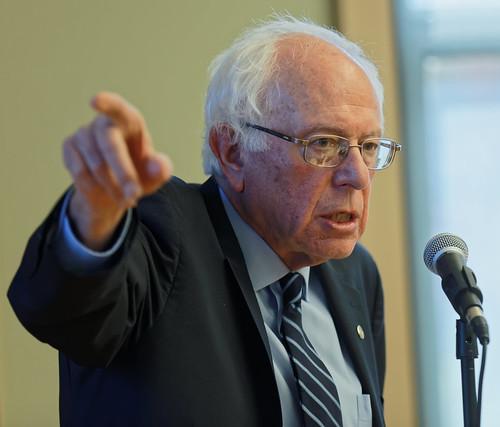 Sanders Meets New Hampshire Seniors by Michael S. Vadon