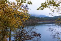 DSC08450 (lutfukacaran) Tags: autumn lake fog landscape leaf sis manzara gl sonbahar yaprak gz borabey