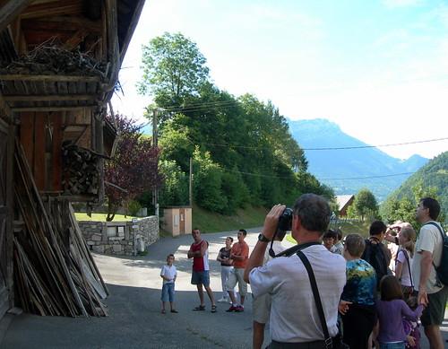 groupes-La Compôte en Bauges, visite guidée © D. Dereani - Fondation Facim, 2008 (6)