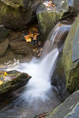Small Fall (m1hoff) Tags: autumn water smooth handheld streams splash