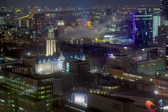 Rotterdam Skyline (www.Royz.nl) Tags: holland netherlands skyline architecture night rotterdam europe cityscape thenetherlands cities cityscapes places countries website nl zuidholland wwwroypootsnl wwwroyznl