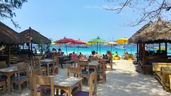 Gili Trawangan Resto de plage