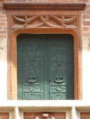 Krakov, univerzita (67) (ladabar) Tags: door doorway kraków krakau krakov dveře