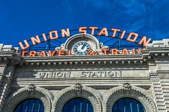 """Historic"" Union Station in Denver, CO."
