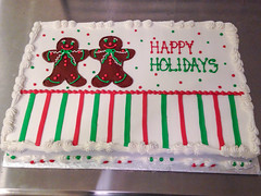 Gingerbread Man Cake (Grace-ful Cakes) Tags: christmas cake happyholidays gingerbreadman christmascake gingerbreadmen holidaycake happyholidayscake gingerbreadmancake gingerbreadmencake