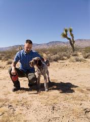 Mojave Desert Dog