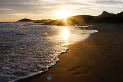 Atardecer en Calblanque (anggarfer) Tags: sunset beach spain playa calblanque regiondemurcia parqueregionalcalblanquemontedelascenizasypeadelaguila anggarfer