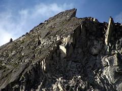 Choss is Boss (Dru!) Tags: canada bc britishcolumbia granite mossy lillooet slab arete fractured cayoosh downtoncreek choss cayooshrange downtonweekend