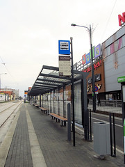 Infrastructure - tram line in Olsztyn