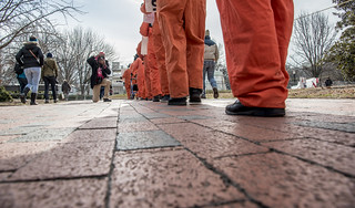 Anti-Torture Protesters March to the White House