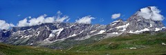 Panorama Alpino - Alpine landscape (Jambo Jambo) Tags: cervino cervinia planmaison alpipennine alpi alps valdaosta montagne mountains valtournenche panorama landscape nuvole clouds valle valley sonydscrx100 jambojambo