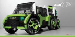 Audi Q+Di (Veeborg) Tags: lego foitsop audi qi