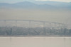 coronado island bridge and smog (wmpe2000) Tags: 2016 sandiegotrip sandiego daytrip pointloma view coronadobridge coronado silverstrandislandtombolosand spit